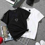 Стильная футболка 42 - 46 две расцветки