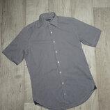 Рубашка с коротким рукавом, шведка, мелкая клетка TOMMY HILFIGER, S-M