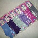 Однотонные укороченные носки
