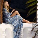 Красивое летнее платье на запах 42 - 46