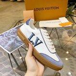 Женские кожаные кеды Louis Vuitton