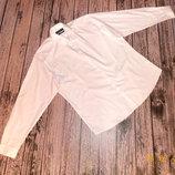 Белоснежная фирменная рубашка для мужчины, размер 17