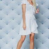 Платье летнее хлопковое белое 42-58