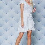 Платье летнее хлопковое белое
