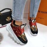 Женские кроссовки Versace бренд
