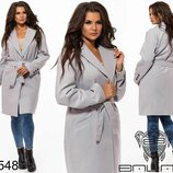 Новиночки Классное пальто, размеры 42- 46