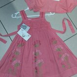 Платье и болеро на 2-3года