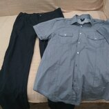 Продам в новом состоянии,фирменный H&M, комплект 46-48 р. Рубашка H&M,100% хлопок