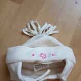 -Флисовая шапкочка для девочки Adams, 3-6 мес.