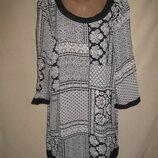 Вискозное платье M&Co р-р16