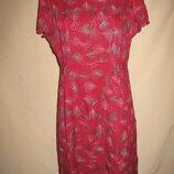Вискозное платье Mantaray р-р14,