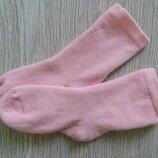Хлопковые махровые носочки для девочки C&A Германия. р.24-26