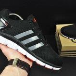 кроссовки Adidas Climachill мужские, сетка, черные