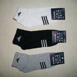 Укороченные хлопковые носки
