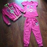 Спортивный костюм для дквочки 5-6 лет