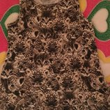 Платье Котики на 6-8лет