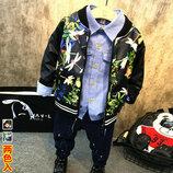 Новинка Детская куртка ветровка, размеры 100- 120