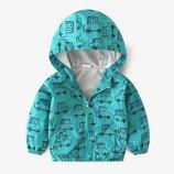 Новинка Детская куртка ветровка, размеры 90- 130