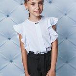 Школа Стильная блуза для девочки
