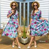 Платье 7 расцветок 42-44 размеры