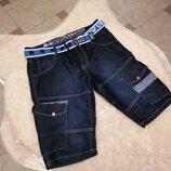 Шикарные джисовые шорты Crosshatch р. 32W 48-50