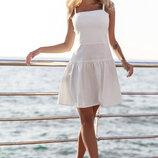 Платье с юбкой-клеш