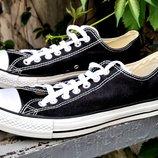 Кеды Converse, новые, цвет - черный.