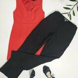 классические черные брюки клеш