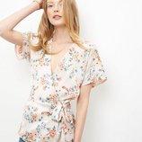 Очень красивая блуза от NEW LOOK рр 10 наш 44