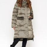 Зимняя куртка женская с меховой опушкой 8888
