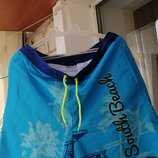 Фирменные пляжные шорты