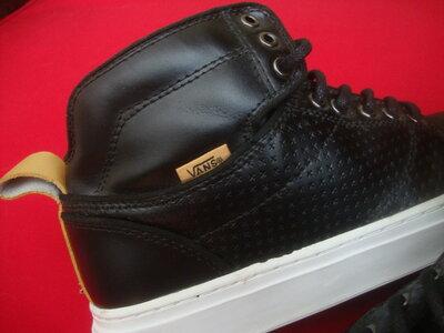 Ботинки Vans оригинал натур кожа 40 размер 26 см