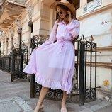 Летнее легкое платье 42 - 44 две расцветки