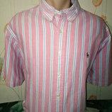 Оригинальная яркая стильная рубашка тенниска Polo Ralph Lauren