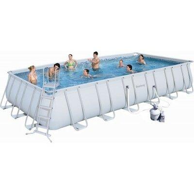 Каркасный бассейн Bestway 56475 размер 732х366х132 с песочным фильтром