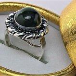 Кольцо перстень серебро 925 проба 8.60 грамма размер 18
