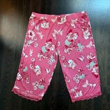 Размер 18 Яркие фирменные тоненькие натуральные пижамные домашние шорты