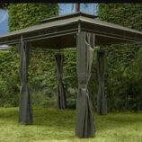 Садовый павильон 3х4м. Большой шатер, палатка, беседка, альтанка, тент. Польша. Ma.