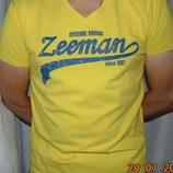 Стильная фирменная фубтолка бренд Zeeman.м-л