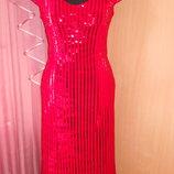Летнее яркое платье 48.50.52 размер