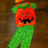 костюм Тыква 3-4 года George карнавальный Хэллоуин Halloween