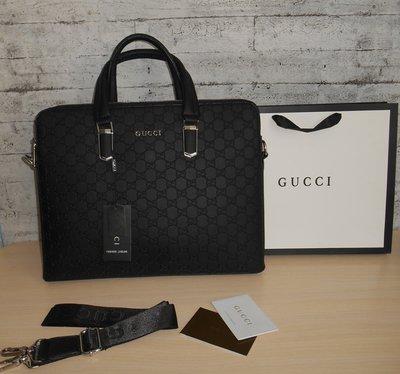 Сумка мужская, портфель Гуччи Gucci, кожа, Италия 2020
