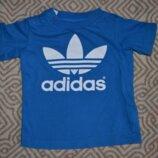 Футболка Adidas оригинал 18 мес рост 86