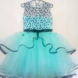 Детское нарядное выпускное бальное платье пышное