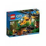 Конструктор Lego City Джунгли Грузовой вертолёт исследователей джунглей 60158