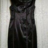 Плотное атласное платье ax paris