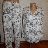 пижама вискозная рубашка со штанишками р12-14