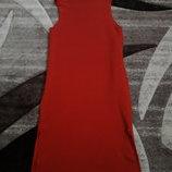 платье футляр миди коралл стильное Италия
