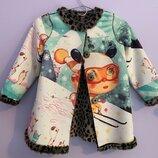 стильное пальто Custo Growing 5-6 лет