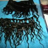 Трессы.волос Натуральный.новые Длина 20-25 см,вес 80 грамм.
